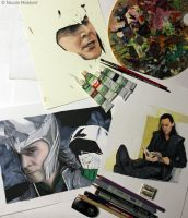 ...too many Loki WIPs by Quelchii