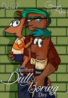Just Another Dull and Boring Day Cover by Renette-Hollow