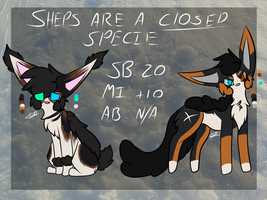    5 - Auction *Open*    by Foxy-Boo-Adopts