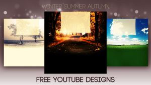 Winter Summer Autumn Designs by JonasForTheArt