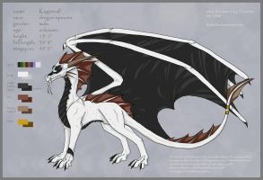 Kageerall reference sheet by Thalathis
