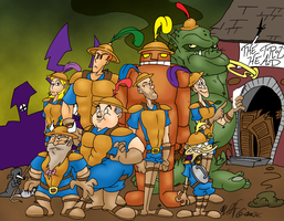 COMMISH: Discworld Cops by Das-Sketchenbuken