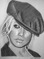 Christina Aguilera by golfiscool