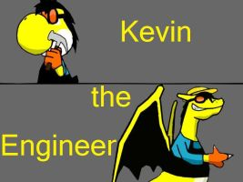 Kevin: The Electric Engineer (March ID) by Kopatropa