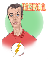 BAZINGA by TheRogueSPiDER