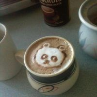 panda coffee by DreamControl371
