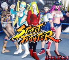 Street Fighter by Bahlinka