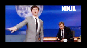 Chris Colfer NINJA by Sugerpie56
