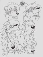 Expression Commission 4 by jellyskink