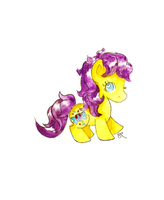 My Little Pony Tales - Bon Bon Chibi by ChiuuChiuu
