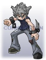 Wolf boy Ooka for anonedge by rongs1234