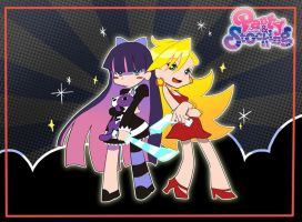 Panty and Stocking by sushiofkeiko