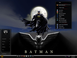 Win7 Batman Mini Theme v2 by KeybrdCowboy