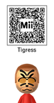 Master Tigress Mii by Jinzo-Advance