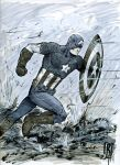 Captain America by giberwitz