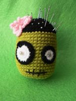 My Zombie Pincushion by GirlOfTheOcean