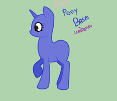 .:Unicorn Pony Base Thing:. by Xx-Chey-La-xX