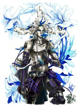 Blue Lily by STECHA191