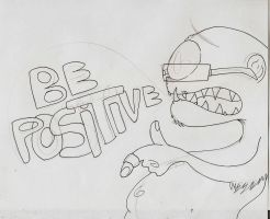 Be positive WIP by FreckleFish