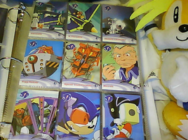 .:Sonic X Cards:. 10 - 18 by SEGAMew