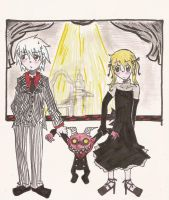 SE- You, Me, and the Oni by KibiKon