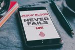 Jesus' blood never fails me by Emberblue