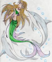 Mermaid and Friends by Trish87