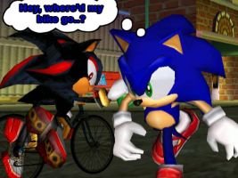 Stolen Bike? Nah... by Sonic-4ever-Club