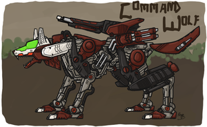 Command Wolf, A Zoids OC by enobaria
