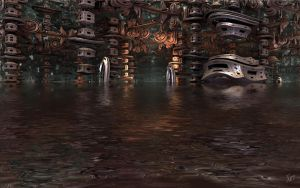 Docking in Azaril 2068 a.d. by GypsyH