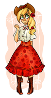 lolita applejack by YerBlues99