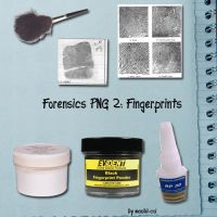 Forensics PNG 2: Fingerprints by Machii-csi
