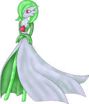 Gardevoir :TRADE: by VioletDragonian
