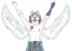 Welcome Home by The-WereWolfAngel