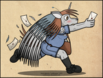 Silverlance, the Mail Boy by LordDominic