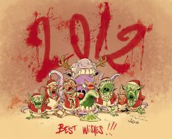 Best Wishes for 2012 by migouze