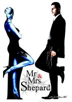Mr and Mrs Shepard 5 by GeekTruth64