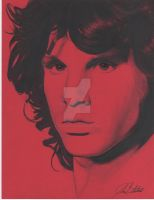 Jim Morrison by Johnbalestrino