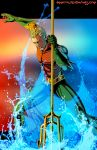 A- is for Aquaman by Ammotu