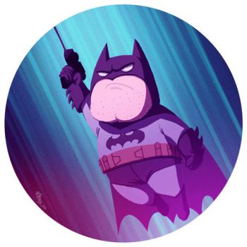 I'M BATMAN!!! gif by McIdea