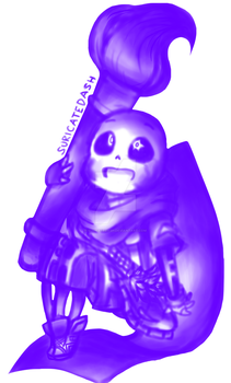 Undertale AU - Ink Sans ( Undertale Doodles#4 ) by SuricateDash