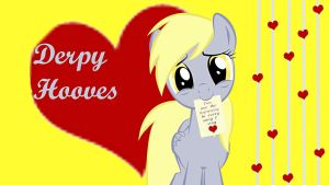 Wallpaper Derpy loves you by Barrfind