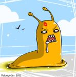 Man Eating Banana Slug by kobayashi