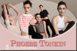 PHOEBE TONKIN PNG PACK - By Enola by Enola--Alone
