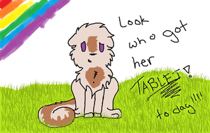 I Got Meh Tablet.. by AnimatedSquirrel