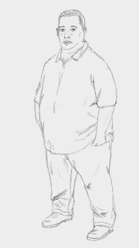 Fat-guy-sketch. by chworz