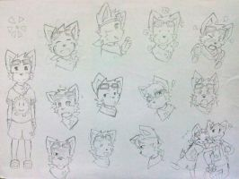 Taiyo - Expression Practice by NeiruLysor36