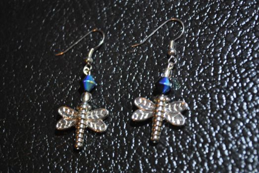 Dragonfly Earrings 2 by zypher052
