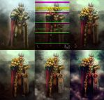 King Of Pain Process by d3athb3rrymon