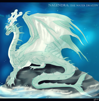 Nagendra: The Water Dragon by mysteriousharu